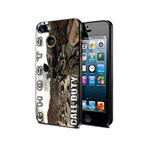 Cod09 Silicone Cover Case Iphone 5/5s Call of Duty Ghosts