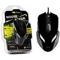 Mouse Optico Gamer 2400 DPI com 6 Botoes KP-V20 Preto KP-V20 KNUP
