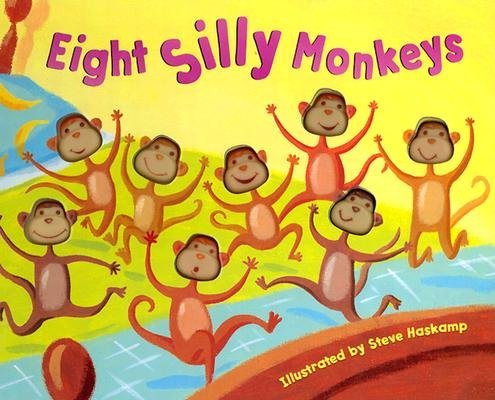 Download Eight Silly Monkeys Jumping on the Bed pdf epub