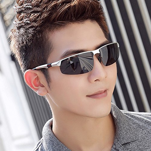 Protección 4 Hombre Anti Ojos HD 9 Deporte De de Gafa para Sol Los Polarizados Moda sol Vidrios Reflejante Gafas Color Gafas YQQ Gafas De De Conducción CqtUSc