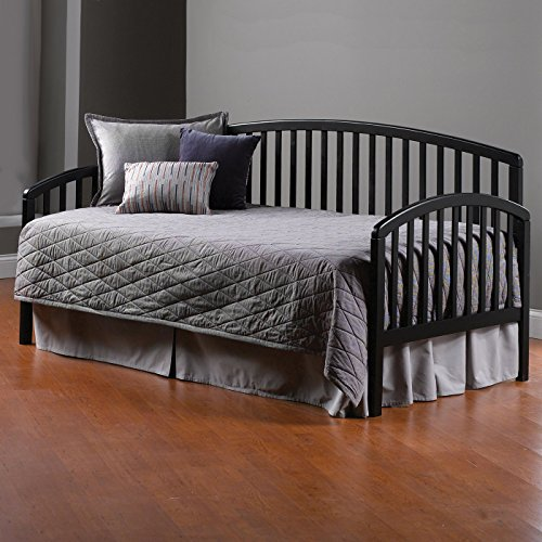 Hillsdale Furniture Daybed in Black Finish - Sides/Back Only (Daybed Carolina)