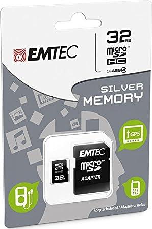 Emtec Mini Jumbo Super - MicroSD-32GB Tarjeta de Memoria