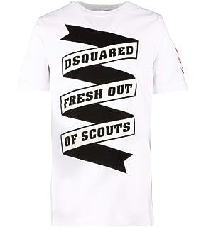 Dsquared2 T-Shirt Bambino Kids Boy MOD DQ02M8