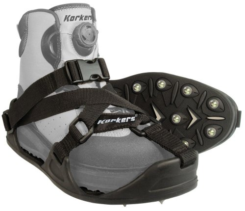 Korkers CastTrax Cleated Overshoe, X-Large