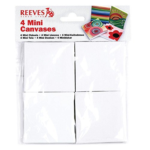 Winsor & Newton Reeves Mini Canvas, 4-Pack [並行輸入品]   B07TBTFLVW