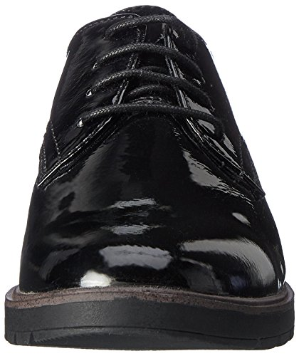 Donna Nero Tamaris Stringate Scarpe Oxford 23600 Black wqT4Oa