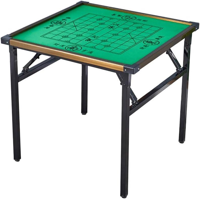 Koop Goedkoop Tafel Opklapbare tafel, klein laptop-bureau, 4-persoons speeltafel, feest-eettafel, woonkamer-tabletrek Picknicktafels (Color : Style2) Style1 WNzrBjb