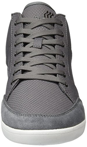 Boxfresh Cheam Nyl Grey Grau Sde Maroon Steel Rip Sh Alte Grigio Sneaker Uomo rrf6xRn