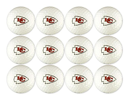 EnjoyLife Inc Kansas City Chiefs NFL Golf Ball 12-Pack by EnjoyLife Inc
