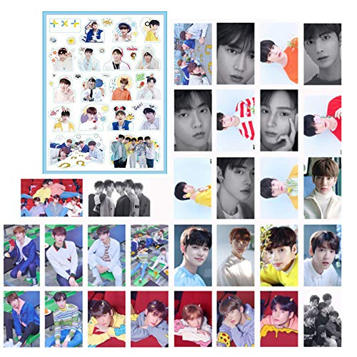 - Fansisco TXT Lomo Cards and Tomorrow X Together The Dream Chapter Sticker Photo Card Poster TXT Accessories Txt Kpop Decorate Your Room (TXT)
