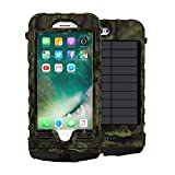 SnowLizard SLXtreme iPhone 8 Plus Case. Solar Powered, Rugged and Waterproof with a built in Battery – Mossy Oak