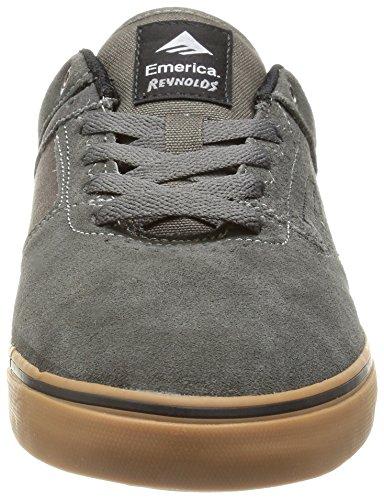 Emerica The Reynolds Low Vulc - Zapatos para hombre Grigio(grey/white/gum)