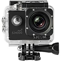 SJCAM SJ4000 WIFI Action Camera FHD 1080P H.264 12MP 170 Degree Wide Angle Lens DV with Waterproof Case and Accessories for Diving Driving Biking