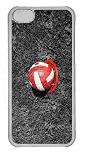LJF phone case Customized iphone 6 plus 5.5 inch PC Transparent Case - Volleyball Personalized Cover