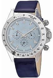 Toy Watch Women's 8003BLP-ST Quartz Chronograph Analog Watch