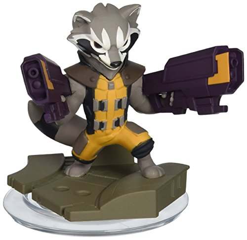 Disney Infinity: Marvel Super Heroes (2.0 Edition) Rocket Raccoon - Not Machine Specific (Best Disney Characters List)