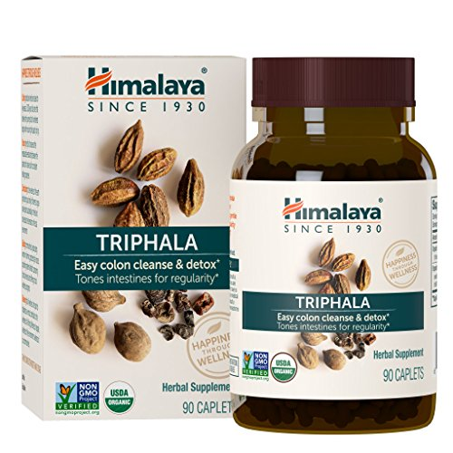 Himalaya Healthcare Triphala Digestive Support 90 Caplet, 0.03 Pound