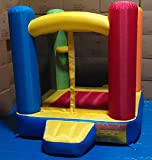 "My Bouncer Little Castle Bounce 72"" L x 72"" W x 72"" H Ball Pit Popper w/ Phthalate Free Puncture Resist Nylon Material"