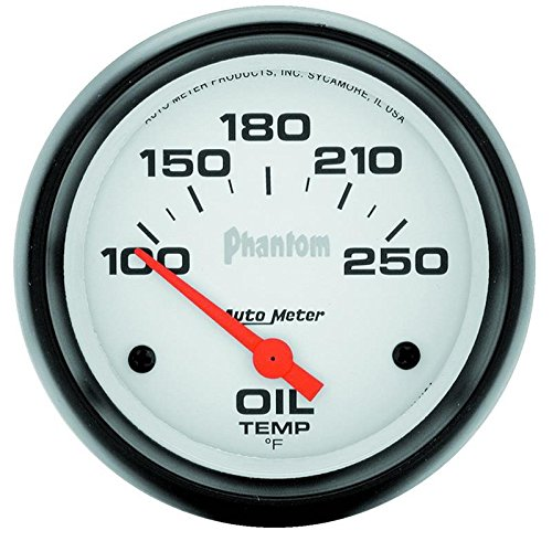 Autometer 5847 2-5/8'' OIL TEMP, 100- 250`F, SSE, PHANTOM by Auto Meter