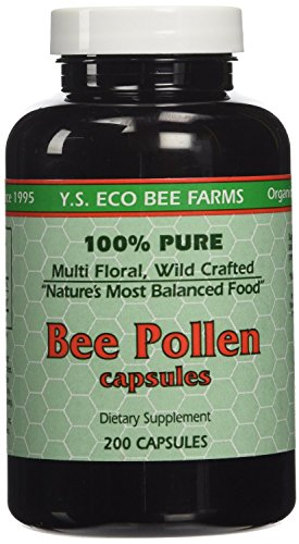 Y.S. ECO Bee Farms 100% Pure Bee Pollen 1,000mg- 200 Capsules Review