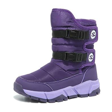 newest 5a79d 33d29 Kinder Schuhe Winter Junge Wasserdichte Stiefel für Jungen ...