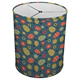 Hardback Linen Drum Cylinder Lamp Shade 8'' x 8'' x11'' Spider Construction [ Easters Animals Eggs ]