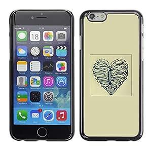 Stuss Case / Funda Carcasa protectora - Deshuesar corazón del amor - Apple Iphone 6 Plus 5.5