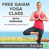Gaiam Yoga Mat Premium Print Reversible Extra Thick