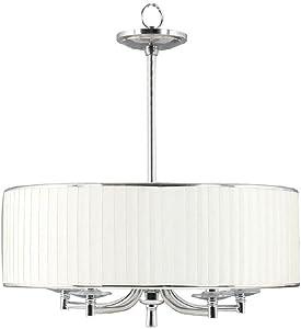Home Decorators Collection 16644 Anya 5-Light Chrome Pendant