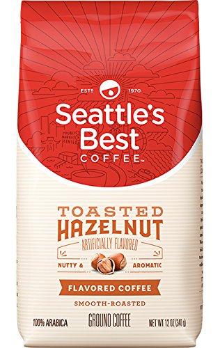 Ground Coffee Hazelnut Cream - Seattle's Best Ground Coffee. Hazelnut Cream. 12 0z.