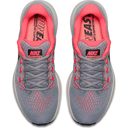 Brillant Zoom 12 Pur Rouge de Cocktail Lave Gris Gris Gris Platine Coloured Multi Femme Vomero Course Loup Rouge Chaussures Noir Air Nike WMNS IFxqHw1