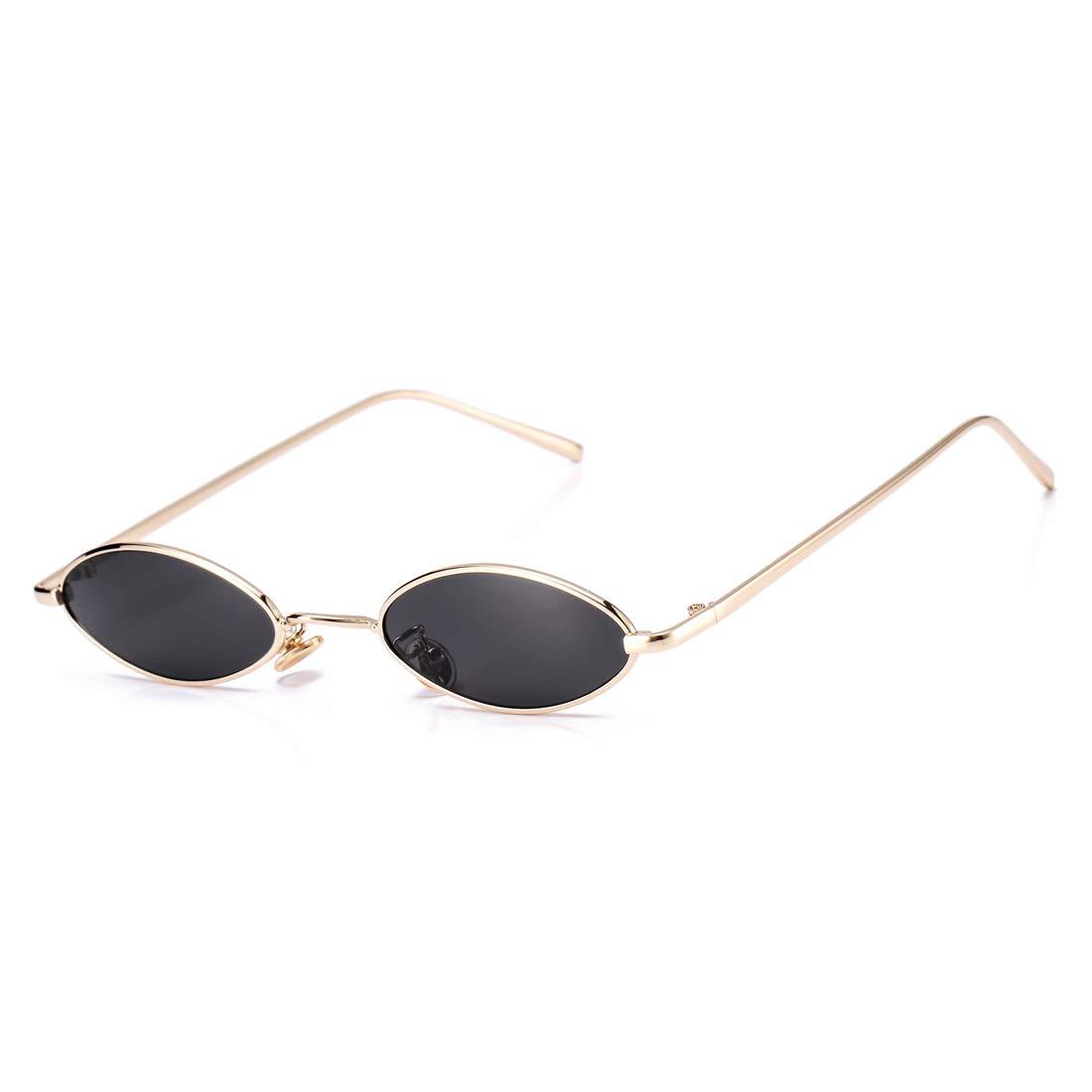 Amazon.com: Gafas de sol ovaladas pequeñas vintage para ...