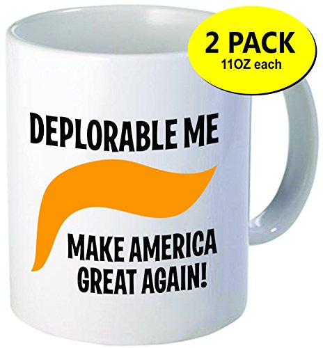 2-PACK Deplorable Me - Funny Mugs 11OZ
