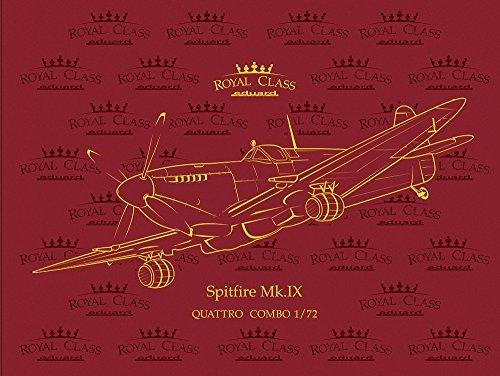 - 1:72 Eduard Model Kit Royal Class Spitfire Mk Ix Quattro Combo