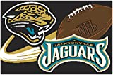 Jaguars Northwest NFL Tufted Rug