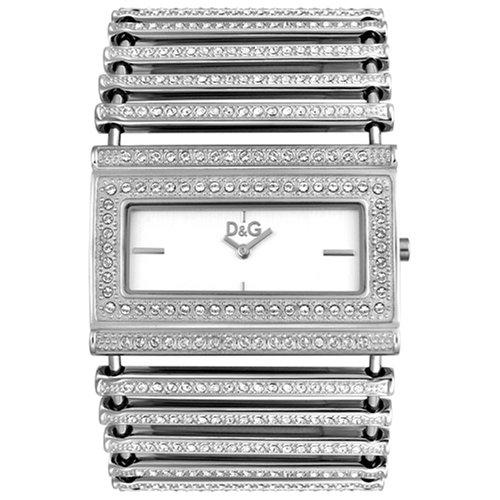 1233e37197b3 Dolce   Gabbana D G Dolce Gabbana - Reloj analógico de Cuarzo para Mujer  con Correa de Acero