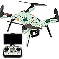 Skin For 3DR Solo Drone – Sushi | MightySkins Protective, Durable, and Unique Vinyl Decal wrap cover | Easy To Apply, Remove, and Change Styles | Made in the USA
