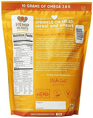 Manitoba Harvest: Hemp Hearts Raw Shelled Hemp Seeds 28 Oz (Pack of 2)