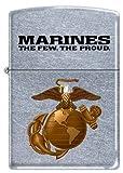 US Marine USMC ~ Marines,The Few, The Proud ~ Military Zippo Lighter Semper Fi