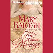 First Comes Marriage: Huxtable Series, Book 1 | Mary Balogh
