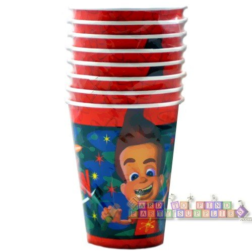 Jimmy Neutron Party Paper Cup 8 in Package -