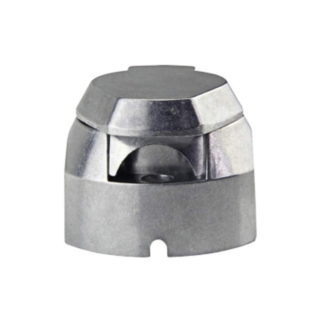 Qiman 13Pin Metall Anh/änger Sockel Aluminiumlegierung 13 Way Lichter Anschl/üsse Elektrik Adapter F/ür Auto RV Caravan
