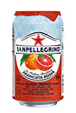 Sanpellegrino Blood Orange Sparkling Fruit Beverage, 11.15 fl oz. Cans (24 Count)