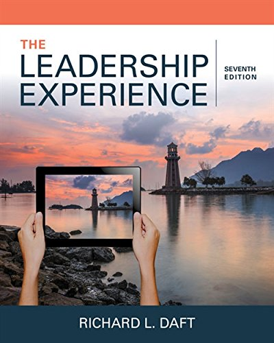 Thing need consider when find leadership experience daft 7th edition?