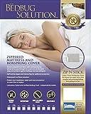 """Bed Bug Proof Zippered Mattress / Box Spring Encasement (9"""" Depth) (Regular Twin)"""