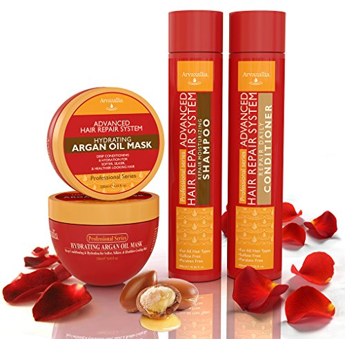 Advanced Hair Repair Shampoo And Conditioner Set With