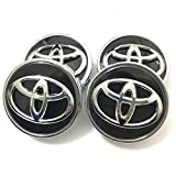 Automelody 62mm 4pcs A Set Of Wheel Center Caps Hubcap For Toyota Camry Crown Corolla MARK X Highlander RAV4 (Type5)