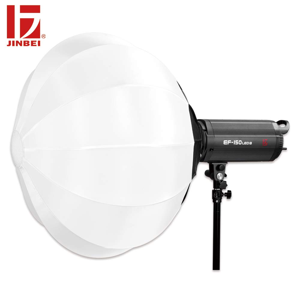 5500K Bowens Mount Led Continuous Lamp,Daylight Balanced Video Light JINBEI EF-200 200Ws RA 95 Wirelessly Adjust Brightness,for Video Recording,Wedding Shooting,YouTube Vine Portrait Photography