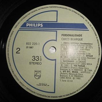 personalidade LP: CHICO BUARQUE, CHICO BUARQUE: Amazon.es: Música