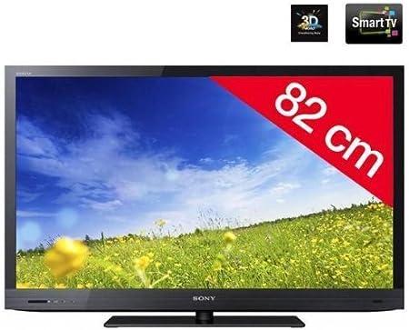 Televisor LED 3d KDL-32EX720 + – Gafas 3d TDG activo de br250b – Negro: Amazon.es: Electrónica